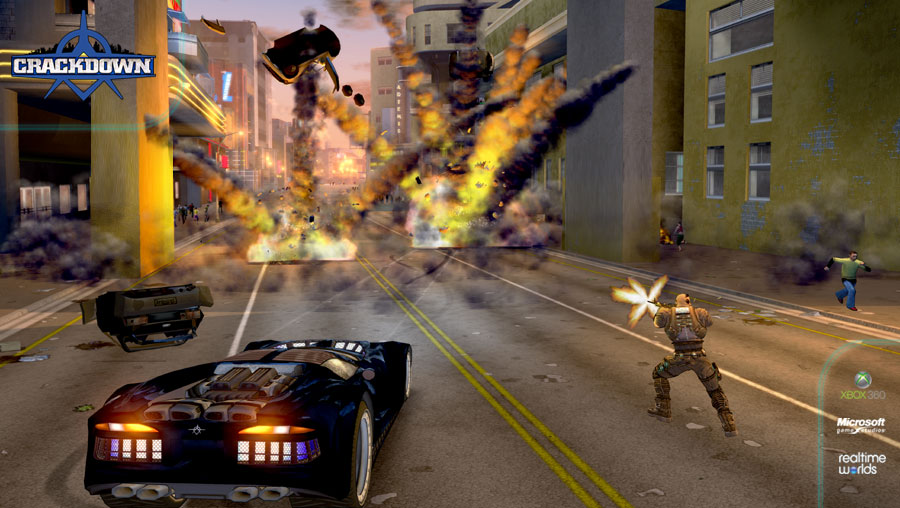 Crackdown - blowing things up!